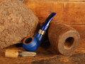 BigBen Phantom blue matte 427 with blue mouthpiece - nature top